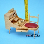 Quality Cobblers Shoemaker Bench Dollhouse Miniature 1:12 V4012-GO